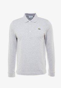 Poloshirt - silver chine