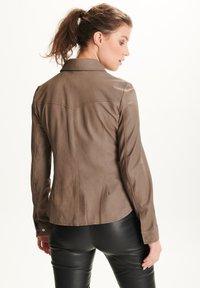 BTFCPH - STEPHANIE - Button-down blouse - stone - 2
