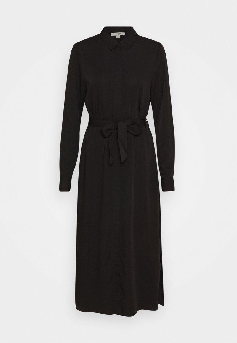 comma casual identity - Košilové šaty - black