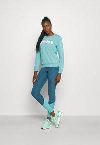 adidas Performance - Sweatshirt - mint ton/white - 1
