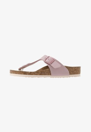 GIZEH - T-bar sandals - mauve