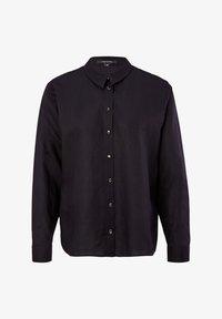 comma - Button-down blouse - dark blue - 4