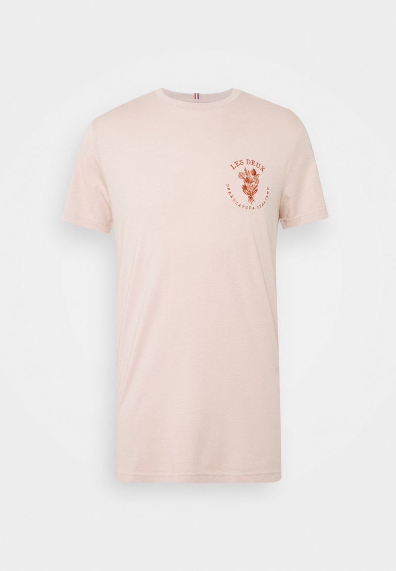 Les Deux - SPREZZATURA - Print T-shirt - dusty rose