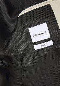 Lindbergh - PLAIN MENS SUIT - Suit - sand - 4