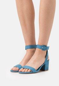 Even&Odd - Sandals - blue - 0