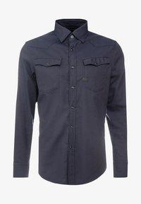 G-Star - 3301 SLIM SHIRT - Shirt - mazarine blue - 4