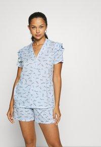 Calida - V & R Damen - Pyjamas - placid blue - 0