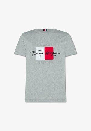 BOX SIGNATURE  - Print T-shirt - grey