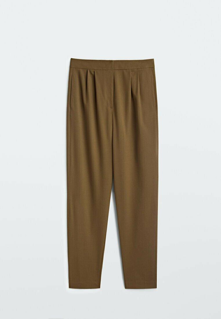 Women MIT HOHEM BUND UND KLAMMERN  - Trousers