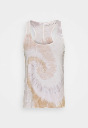 BARE KNOTTED TANK WASH - Top - pink wash