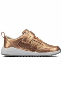 Clarks - AEON FLEX - Sneakers laag - copper leather - 4