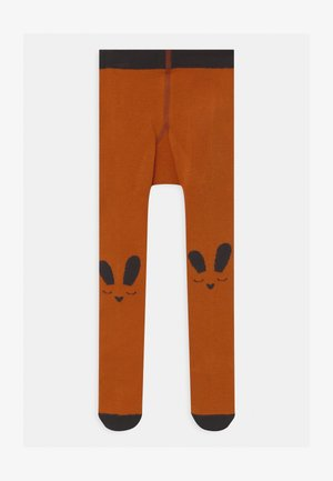 BUNNY FACE UNISEX - Tights - ginger