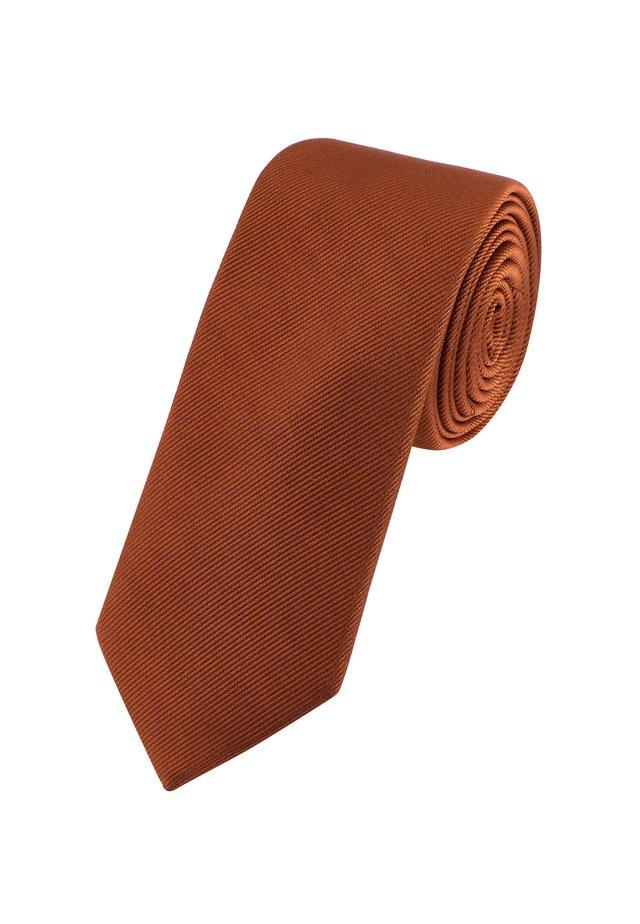 SLIM  - Tie - orange