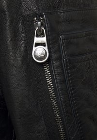 Diesel - L-STEPHEN JACKET - Leather jacket - black - 3