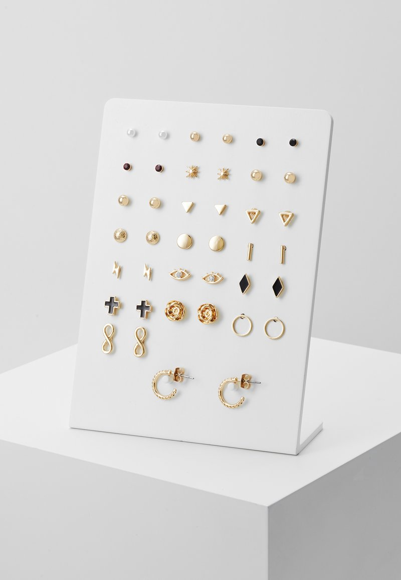 Monki - ROSALIE EARRINGS 20 PACK - Náušnice - gold-coloured