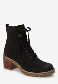 Next - SIGNATURE  - Lace-up ankle boots - black - 1
