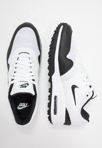 Nike Golf - AIR MAX 1 G - Golfové boty - white/black - 1
