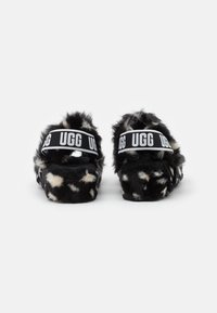 UGG - OH YEAH SPOTS - Slippers - black - 3