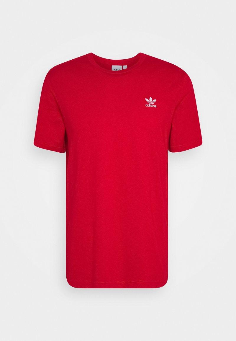 adidas Originals - ESSENTIAL TEE UNISEX - T-shirt basic - scarle