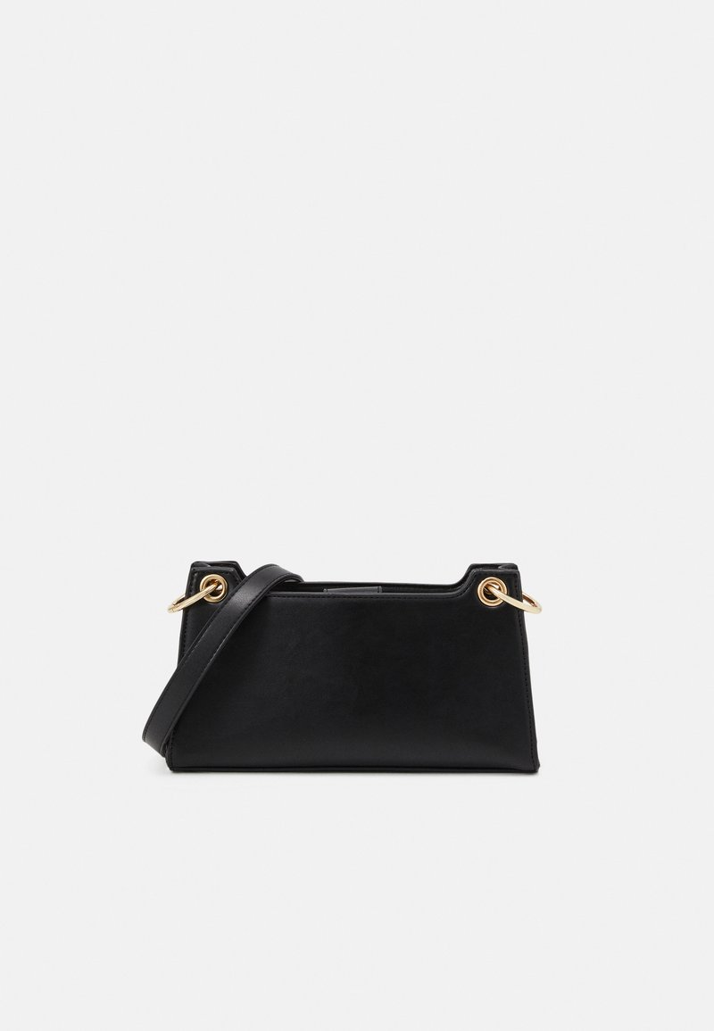 Pieces - PCJUKINA SHOULDER BAG - Handbag - black/gold