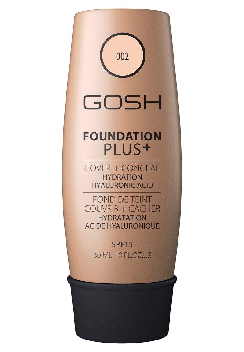 Gosh Copenhagen - GOSH FOUNDATION PLUS +  - Foundation - 002 ivory