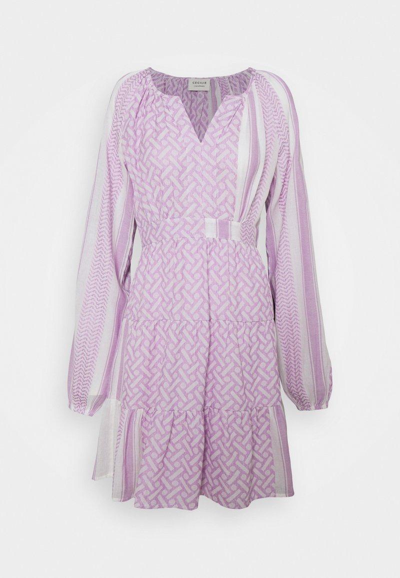 CECILIE copenhagen - MONICA - Day dress - sheer lilac