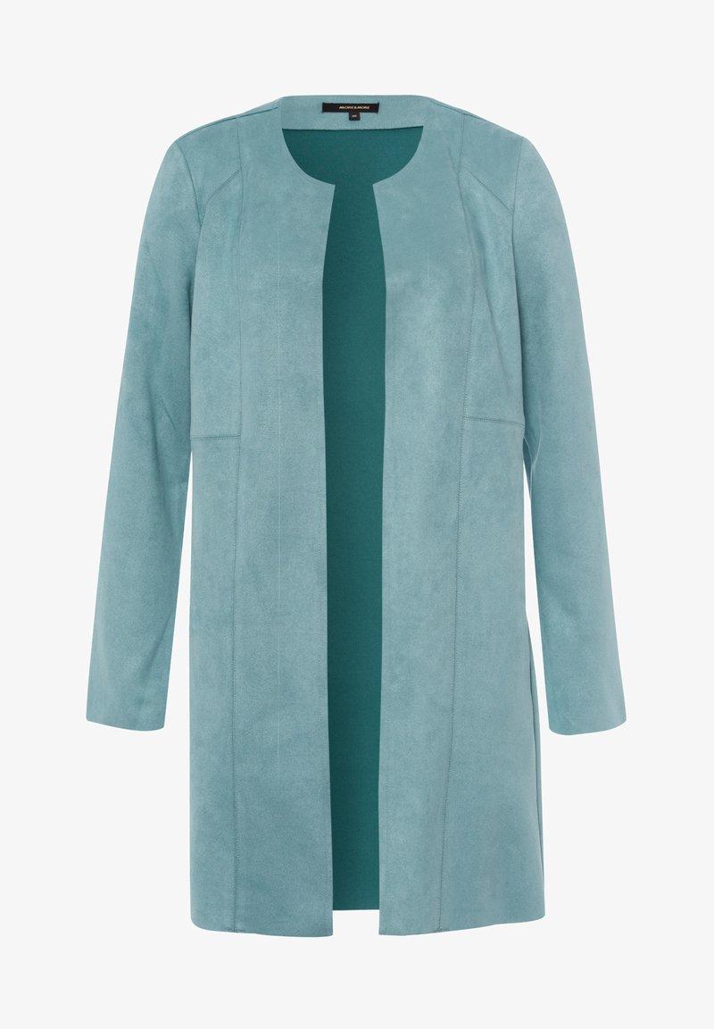 More & More - Short coat - grã¼n