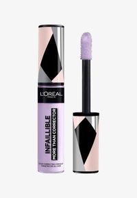 L'Oréal Paris - INFAILLIBLE MORE THAN CORRECTOR - Concealer - 02 lavender - 0