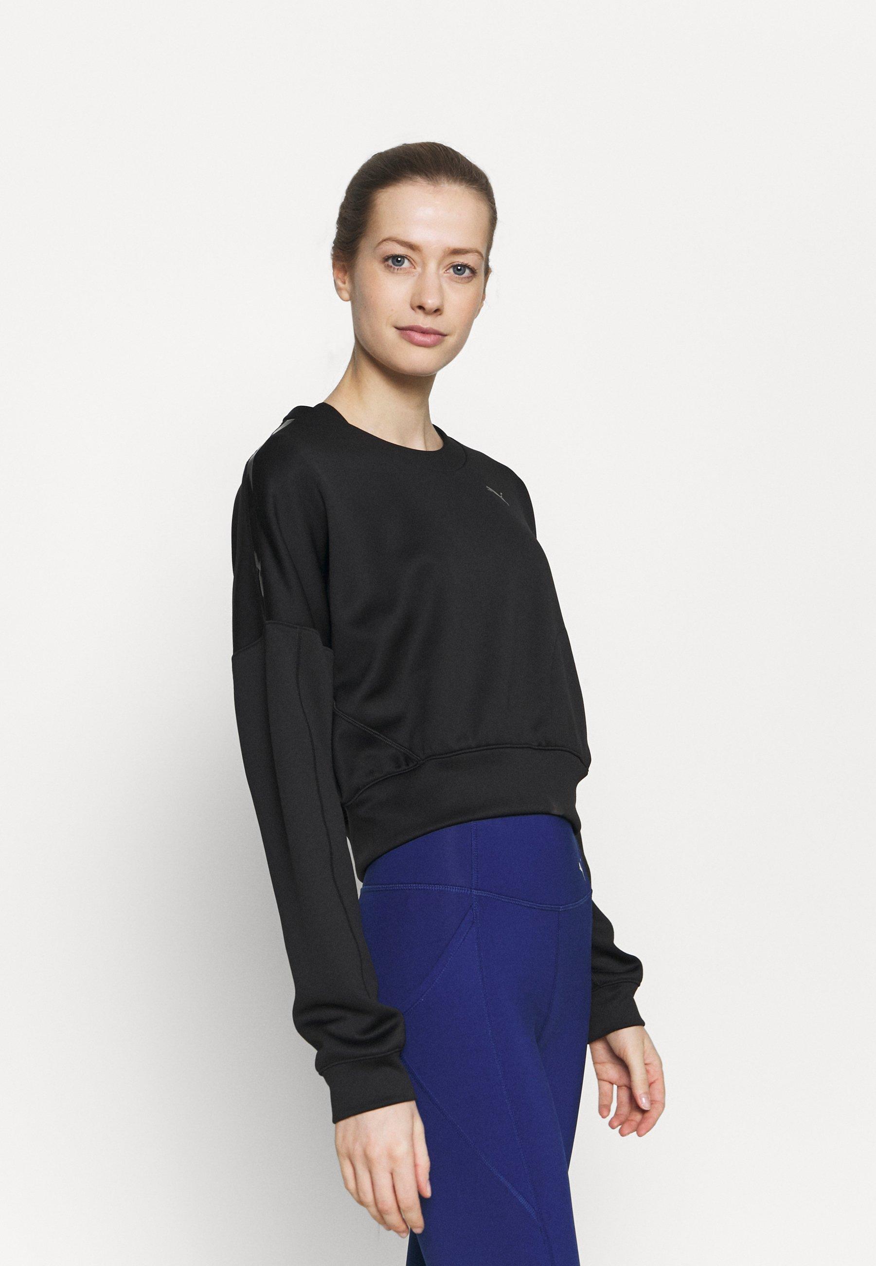 Women TRAIN ZIP CREW - Sweatshirt