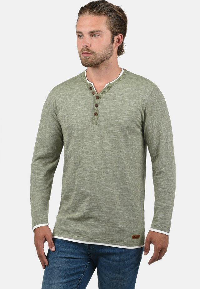 BELAGOS - Long sleeved top - dusty olive