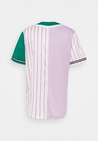 Karl Kani - COLLEGE BLOCK PINSTRIPE BASEBALL SHIRT UNISEX - Print T-shirt - lilac - 1