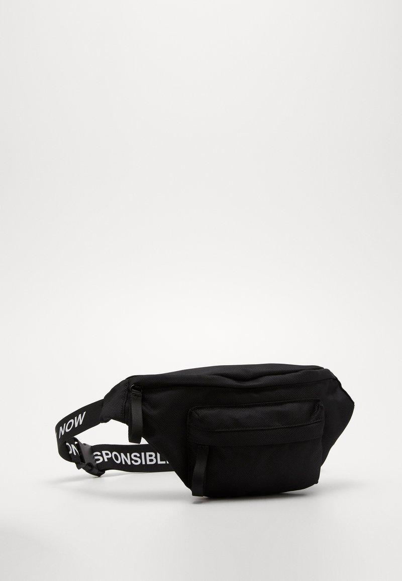Zign - Unisex Belt - Rumpetaske - black