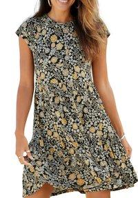 LASCANA - MANCHES COURTES RANUNKEL  - Day dress - imprimé - 0