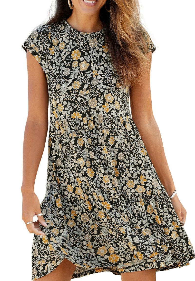 LASCANA - MANCHES COURTES RANUNKEL  - Day dress - imprimé