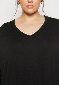 New Look Curves - BATWING MINI - Shift dress - black - 5