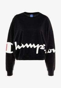 Champion - CREWNECK - Long sleeved top - black - 3