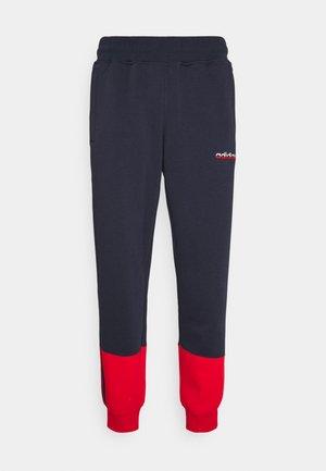 3 STRIPE SPLIT - Pantaloni sportivi - legend ink/red