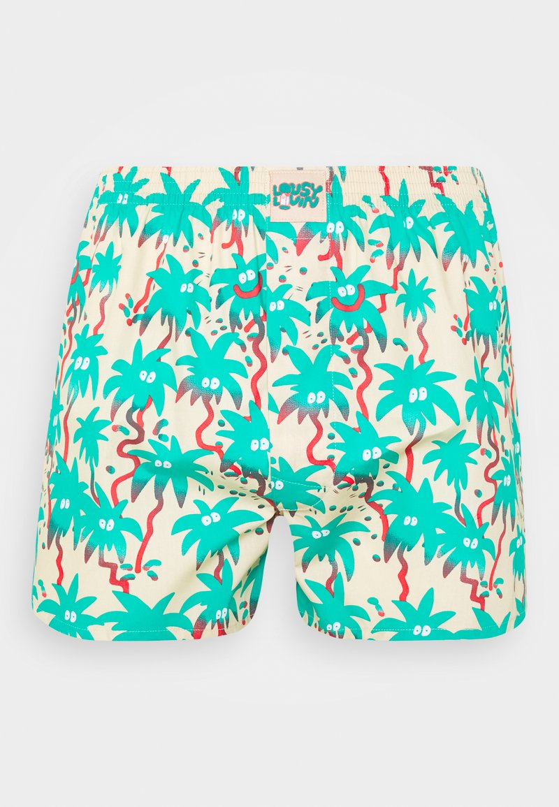 Lousy Livin Underwear - PALMS - Boxer shorts - macademia