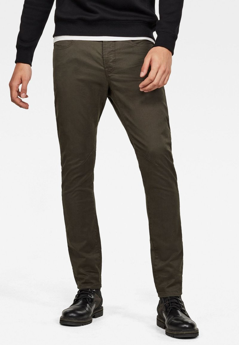 G-Star - D-STAQ SLIM 5-POCKET - Slim fit jeans - asfalt