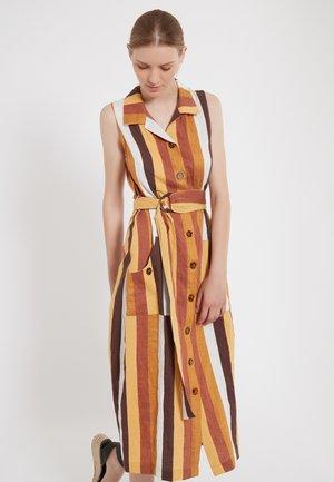ZENIL - Shirt dress - brown