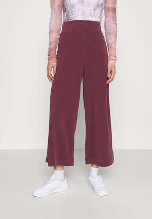 CILLA TROUSERS - Bukse - rust