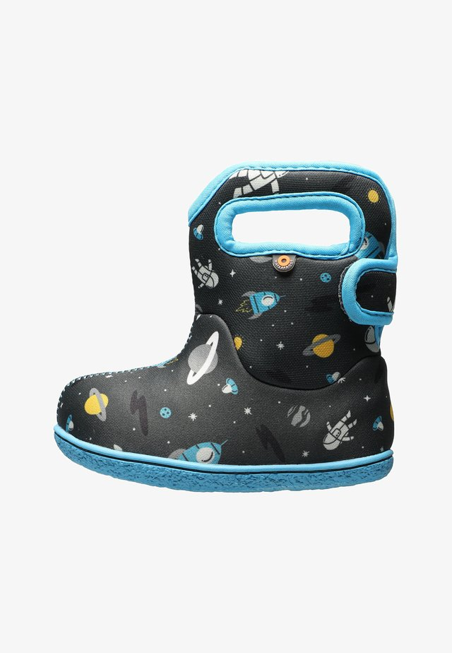 SPACE MAN - Snowboots  - dark gray multi