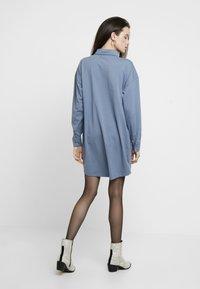 Missguided - DRESS PLAIN - Shirt dress - blue - 3