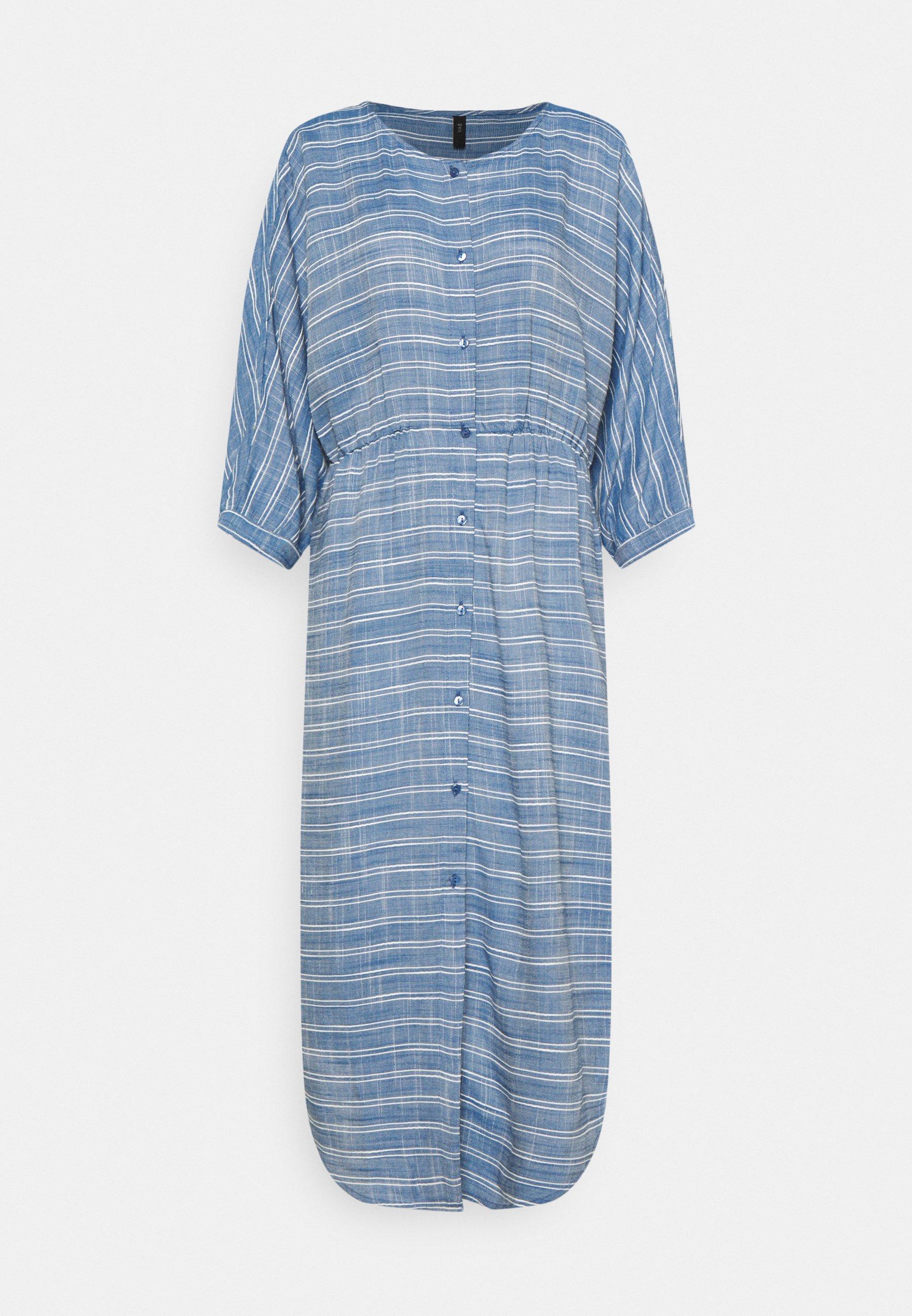 Women YASELMA LONG SHIRT DRESS - Day dress