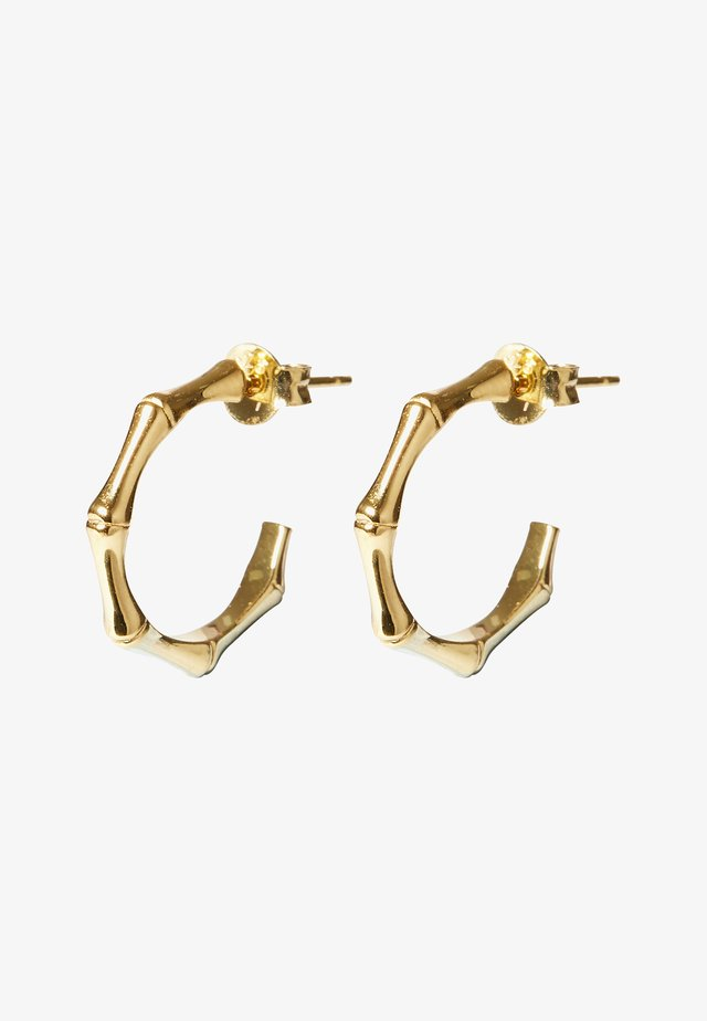 BAMBOO  - Earrings - gold