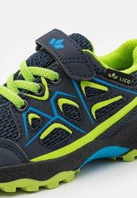 LICO - POSADAS - Touch-strap shoes - marine/blau/lemon - 5