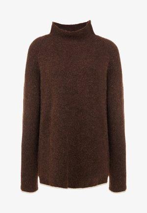 ELLISON - Strickpullover - warm brown
