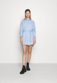 ONLY - ONLNESSA LOOSE SHIRT DRESS - Shirt dress - granada sky/granada sky bright - 1