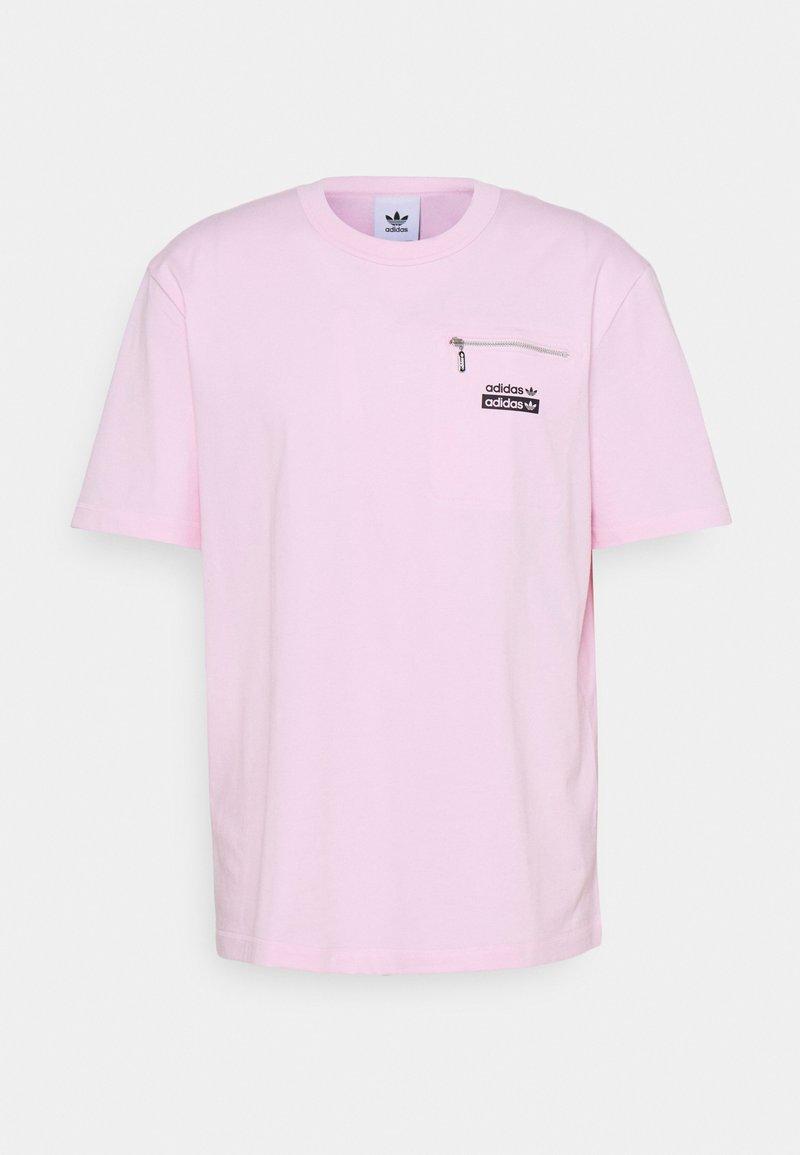 adidas Originals - TEE UNISEX - T-shirt con stampa - clear pink