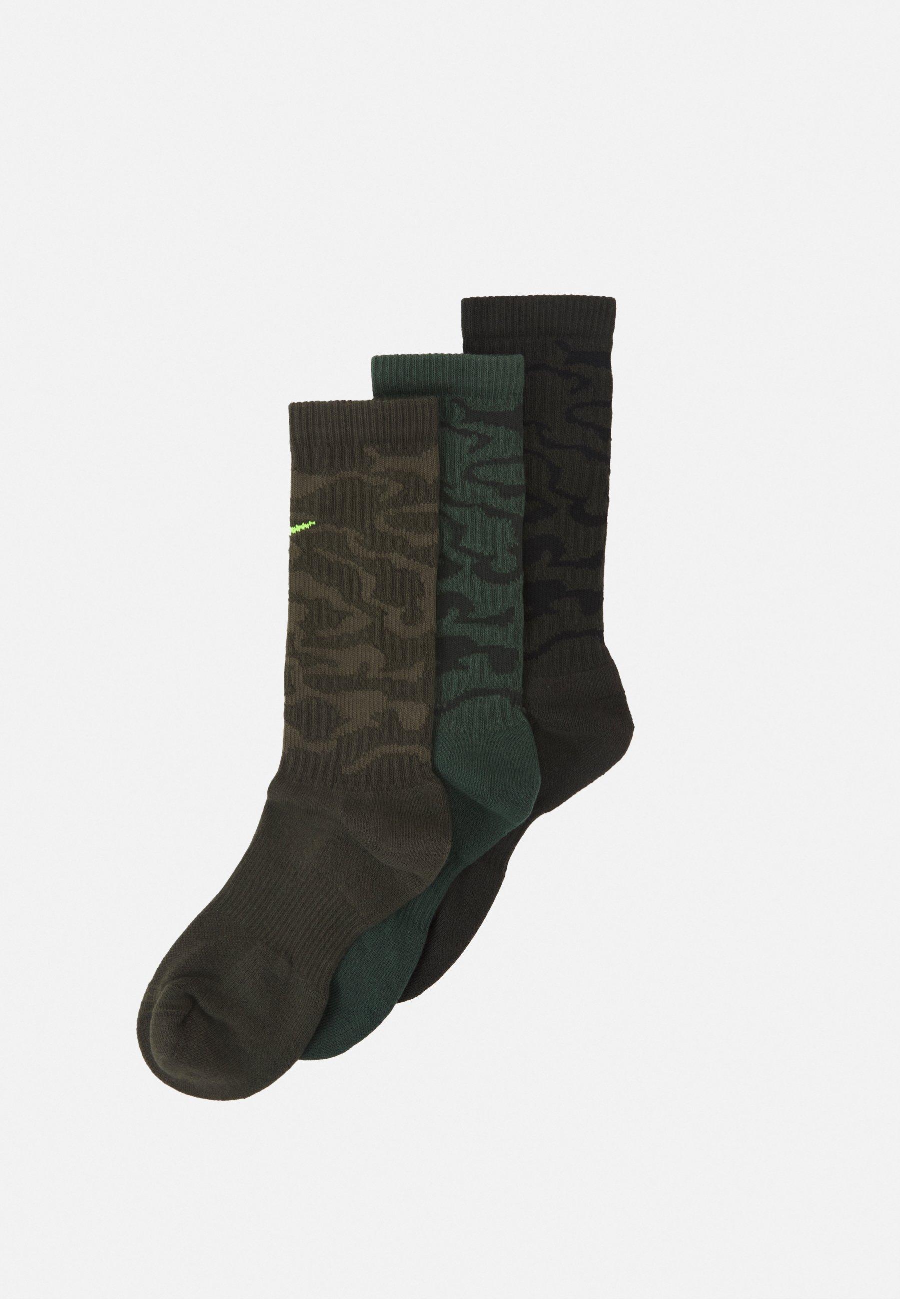 Women EVERYDAY PLUS CUSH CREW CAMO 3 PACK UNISEX - Sports socks